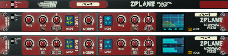 Zplane Morphing Filter